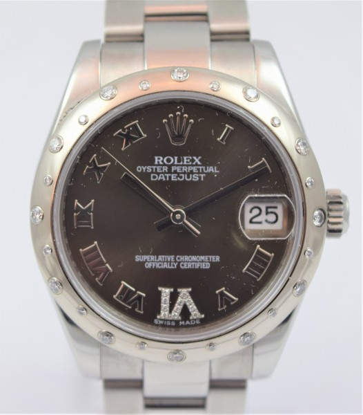 Rolex Lady Datejust 31mm Certified Pre-Owned