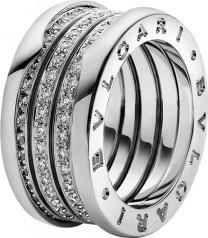 Bulgari BZero1 Ring Weißgold 4-Band Certified Pre-Owned