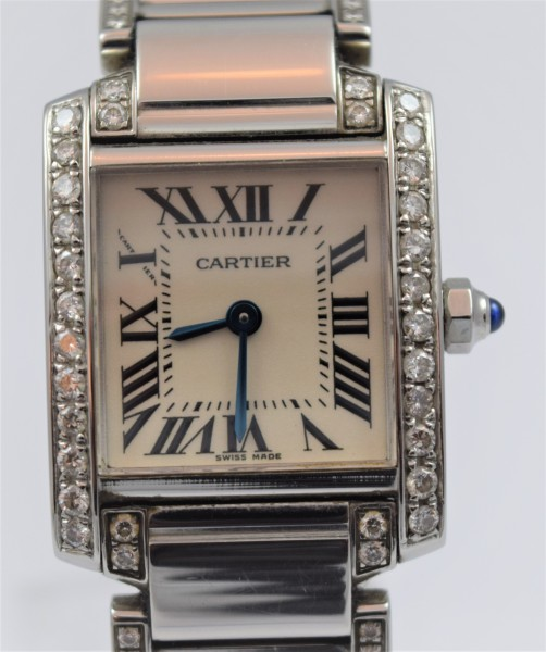 Cartier Tank Francaise Certified Pre-Owned