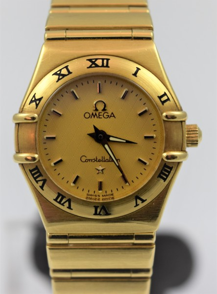 Omega Constellation Certified-Pre-Owned