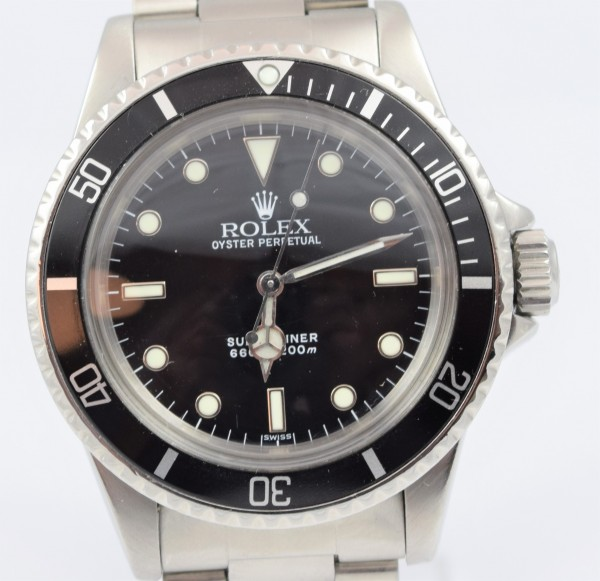 Rolex Submariner No Date Certified Pre-Owned