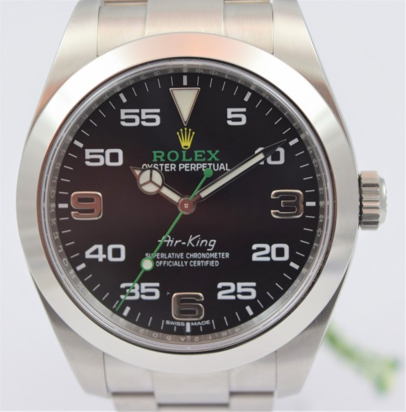 Rolex Airking Certified Pre-Owned