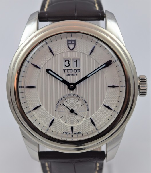 Tudor Glamour Double Date, Certified Pre-Owned