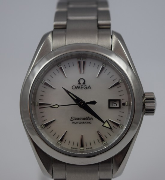 Seamaster AquaTerra Certified Pre-Owned