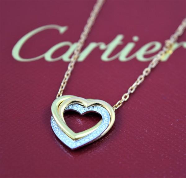 Cartier Trinity Herz Collier VERKAUFT!
