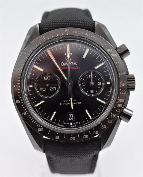 Omega Speedmaster Dark Side ot the Moon VERKAUFT!