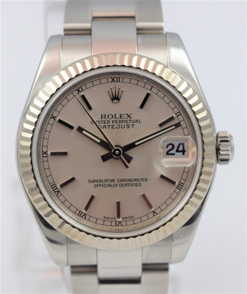 Rolex Lady Datejust 31, Certified Pre-Owned