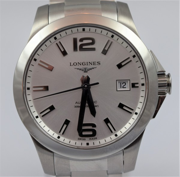 Longines Conquest Certified Pre-Owned