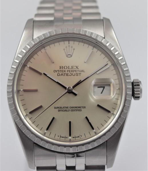 Rolex Datejust 36 mm, Certified Pre-Owned VERKAUFT!