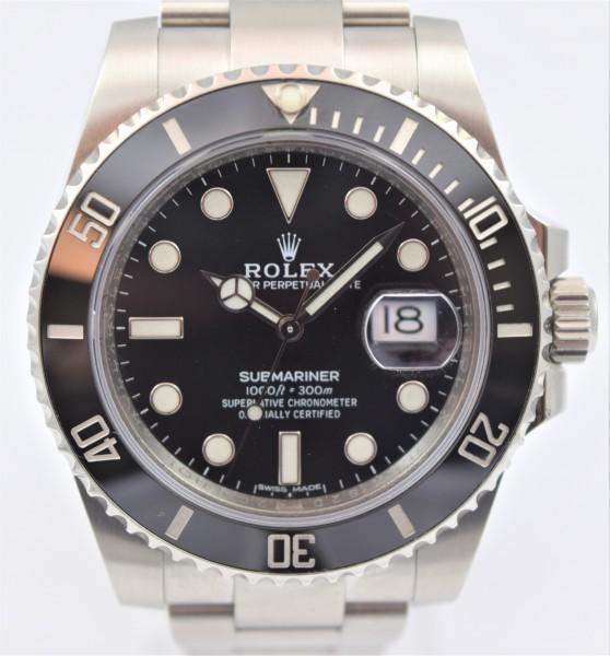 Rolex Submariner Date, Certified Pre-Owned, VERKAUFT!