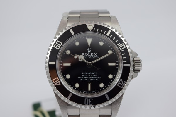 Rolex Submariner Certified Pre-Owned
