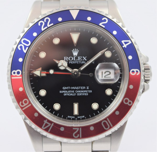 Rolex GMT Master II Certified pre-owned