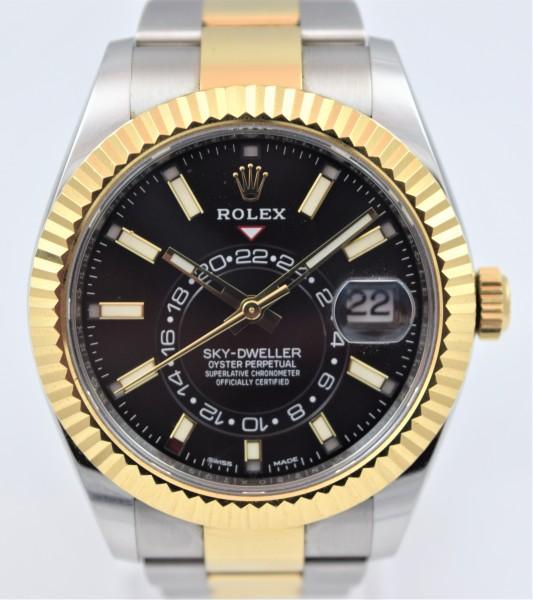 Rolex Sky-Dweller Certified Pre-Owned VERKAUFT!