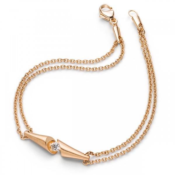 Diamant Armband Roségold