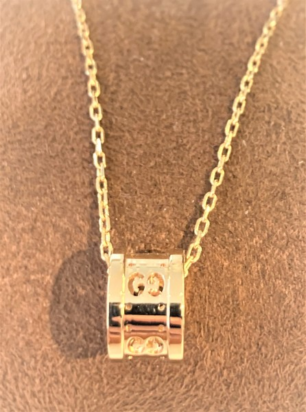 Gucci Icon-Twirl Halskette Gelbgold Certified Pre-Owned