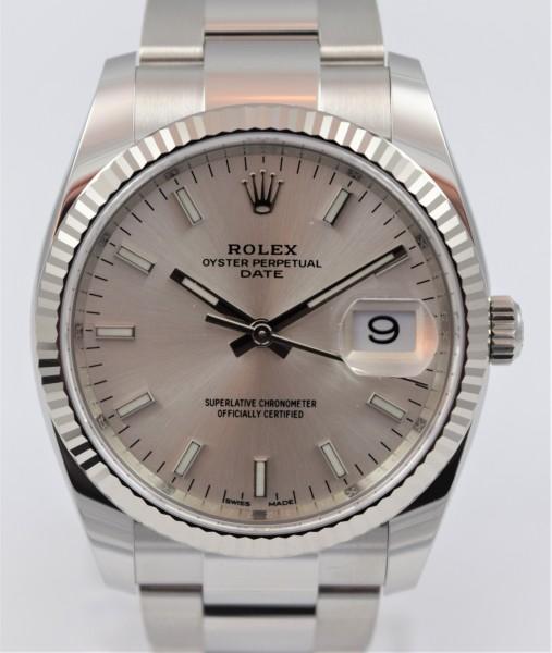 Rolex Date 34mm NEU/ungetragen VERKAUFT!