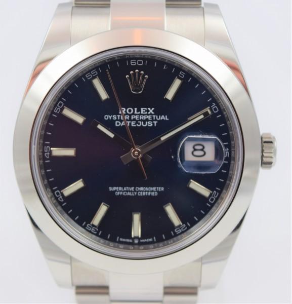 Rolex Datejust 41 Blau VERKAUFT!